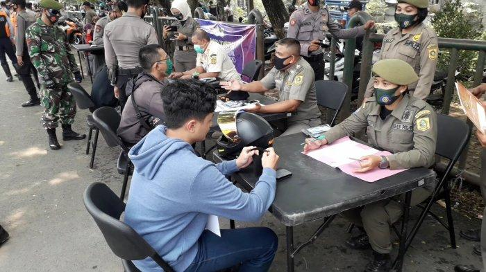 Langgar PSBB, 2.283 Warga di Kabupaten Bogor Terjaring Razia