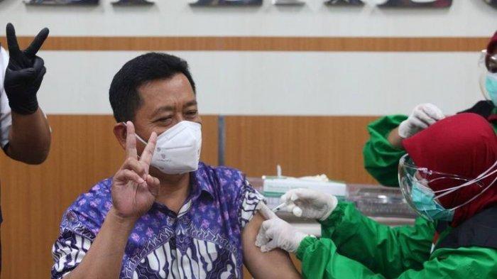 Sudah Disuntik Vaksin, Sekda Kota Bandung Dirawat karena Positif Covid-19