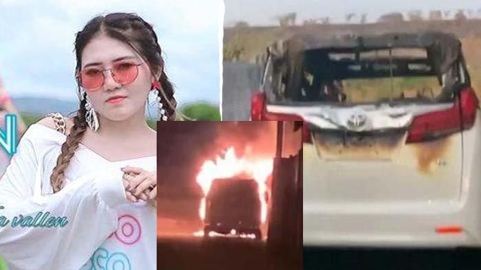 Kepanikan Via Vallen saat Mobilnya Terbakar, Mella Rosa : Masih Gak Nyangka