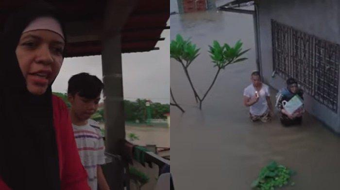 Selamatkan Diri dari Banjir, Gen Halilintar Ucap Istighfar Takut Kehilangan Ini: Ya Allah Gemetar !