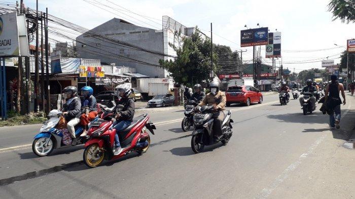 Info Lalu Lintas Kota Bogor - Kendaraan di Jalan KS Tubun saat Ini Ramai Lancar