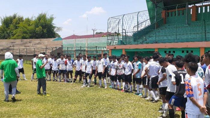 Menatap Porda Jawa Barat 2022, Tim Sepak Bola Kabupaten Bogor Terus Lakukan Seleksi