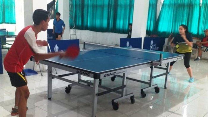 Jelang Kualifikasi Porda Jabar Cabor Tenis Meja, PTMSI Kabupaten Bogor Seleksi Atlet