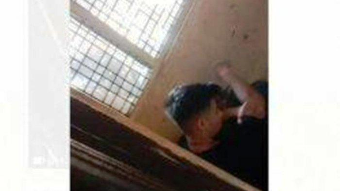 Pemuda berdarah Afganistan inisial M, terduga pelaku penganiayaan yang menewaskan Nasruddin (44 tahun) pengusaha emas di kabupaten Keerom, Papua. (Tribun-Papua.com/Tangkapan Layar)