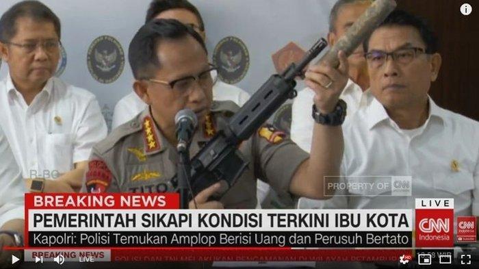 Terungkap Nama 4 Pejabat yang Jadi Sasaran Rencana Pembunuhan : Wiranto hingga Gories Mere