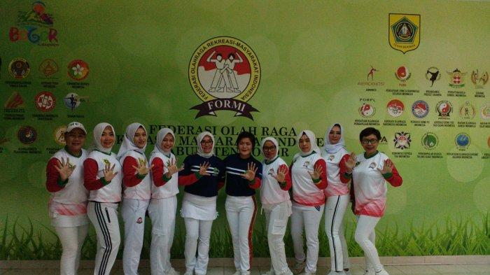 Ikut Kegiatan Virtual Senam Jabar Juara, Ini Harapan FORMI Kabupaten Bogor