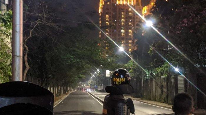 Pukul 20.45 WIB, Suasana Kawasan Senayan Kondusif Pasca Kerusuhan