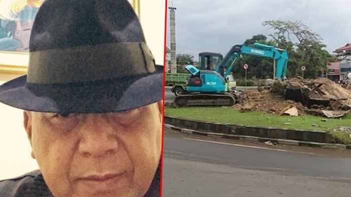 Pematung Senior Ini Rajin Posting Foto Karyanya yang Dihancurkan, Pasrah Atau Sindiran?