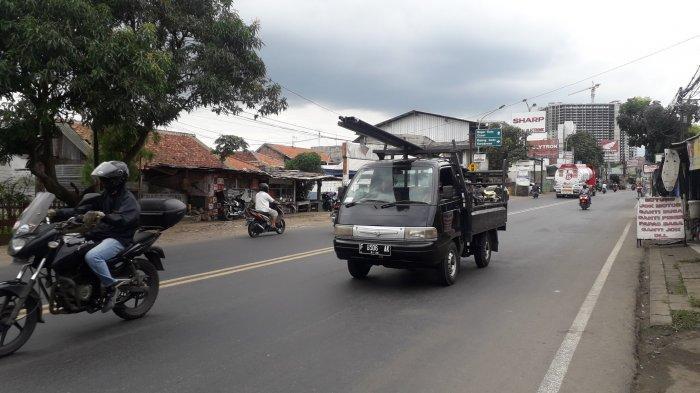 Info Lalu Lintas: Arus Kendaraan di Jalan KS Tubun Kota Bogor Lancar