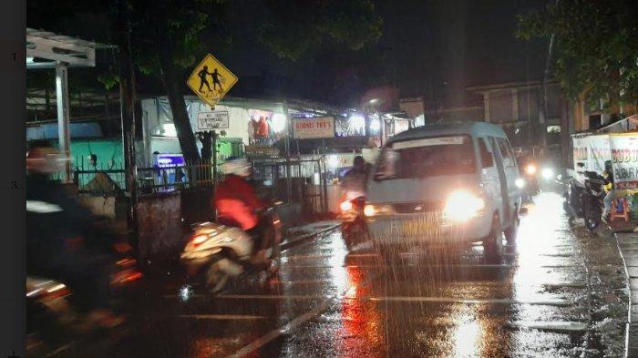 Info Lalu Lintas - Arus Kendaraan di Jalan Raya Pitara Menuju Bojonggede Malam Ini Lancar