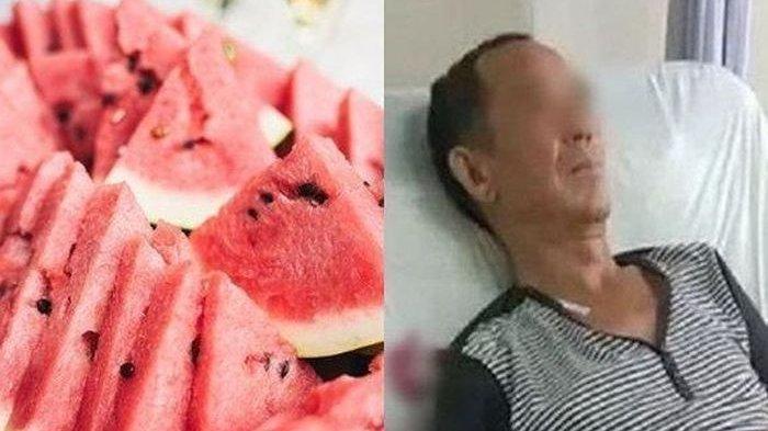 Makan Semangka yang Ditaruh dalam Kulkas, Usus Kakek 70 Tahun Ini Membusuk