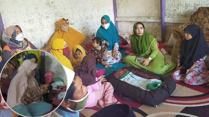 4 bulan lalu berpisah dengan suami, seorang wanita di Cianjur melahirkan bayi perempuan tanpa merasa mengandung.