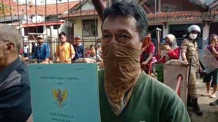 Satpol PP Bongkar Bangunan Empat Lantai di Ciampea Bogor