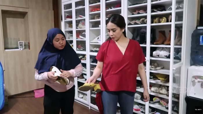 Sepatu Mahalnya Jamuran, Nagita Slavina Malah Ditegur Pengasuh Rafathar, Kelakuan Majikan Terbongkar