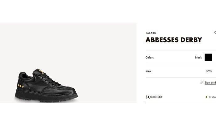 Sepatu LV Abbesses Derby