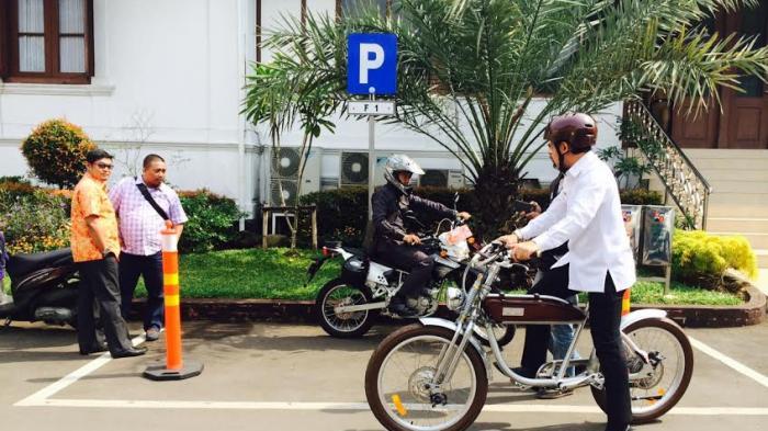 Ternyata Sepeda Wali Kota Bima Arya Mampu Melaju Kencang Tanpa Digowes