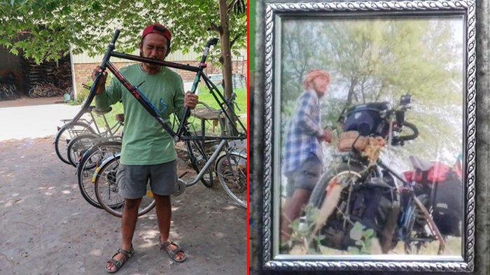 Ini yang Terjadi Dengan Sepedanya Sebelum Umar Tewas Terjatuh di India