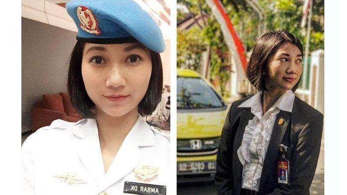 Ini Sosok Serda Ambar, Paspampres Cantik Presiden Jokowi yang Curi Perhatian Warganet Indonesia