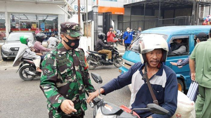 Gelar Operasi Yustisi di Bojonggede Bogor, Warga Tak Pakai Masker Disuruh Pulang