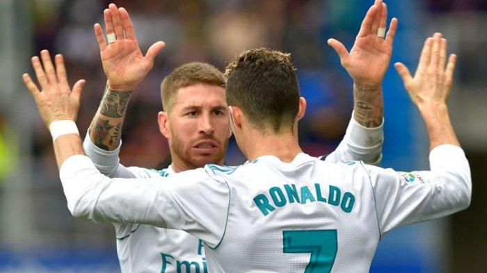 Sergio Ramos Sempat Dibuat Marah Oleh Cristiano Ronaldo Karena Pernyataannya kepada Wartawan