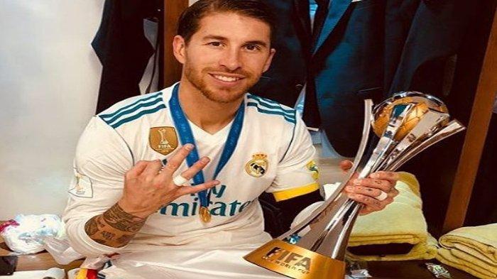 16 Tahun Mengabdi, Sergio Ramos Hengkang Tinggalkan Real Madrid, Ini Deret Prestasi Sang Kapten