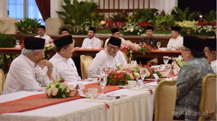 Fahri Hamzah Ditanyai Usai Ikut Bukber dengan Jokowi di Istana: Kok Bapak Datang kan Sering Kritik ?