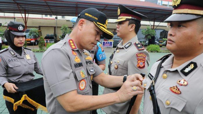 Polresta Bogor Kota Merotasi Sejumlah Perwira, AKP Firman Taufik Isi Jabatan Kasat Reskrim