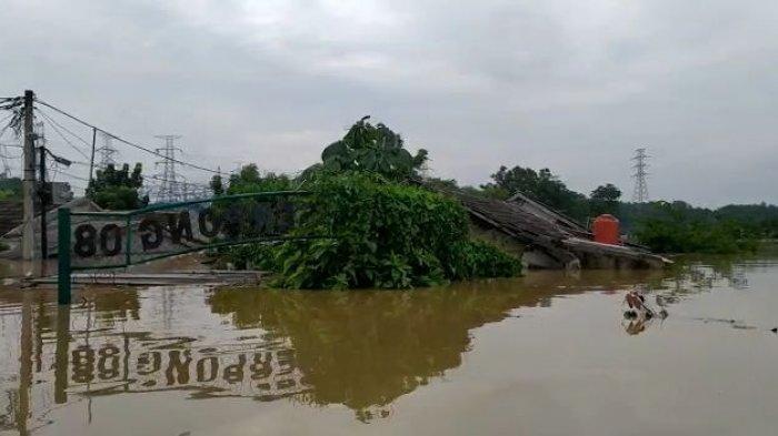 Sungai Cisadane Meluap, Ratusan Rumah Terendam Banjir 4 Meter