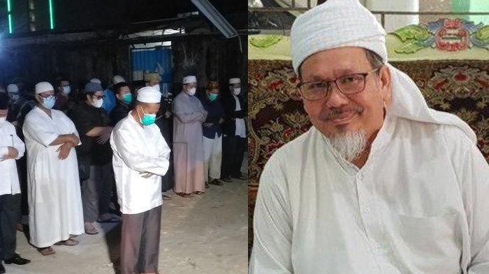 Foto Kondisi Sholat Jenazah Ustaz Tengku Zulkarnain, Tangis Adik Pecah Ungkap Ucapan Terakhir