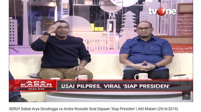 BPN Tuding Hormat 'Siap Presiden' ke Jokowi Bentuk Parodi & Penghinaan, TKN : Ini Kebanyakan Baper !