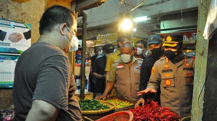 Sidak Pasar Jelang Puasa, Kapolresta Bogor Kota Bawa Polisi Ramadan