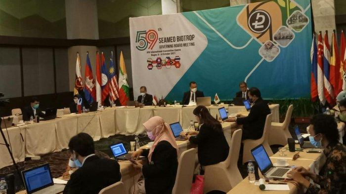 Rapat Dewan Pembina Seameo Biotrop ke-59, Dedie Rachim Sebut Banyak Jasa untuk Kota Bogor