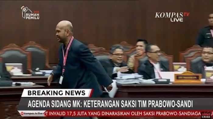 Saksi 02 Idham Amiruddin Praktekan Cara Temukan DPT Bermasalah, 4 Digit Terakhir Pakai Tanda Bintang