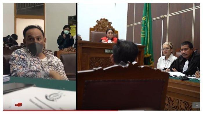 Tindakannya Dinilai Membahayakan, Nikita Mirzani Semprot Dipo Latief Depan Hakim : Suka Gak Ngaca