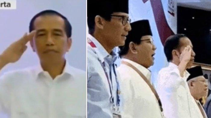 Sikap Hormat Jokowi Saat Lagu Indonesia Raya Diperbincangkan, Bagaimana Aturannya ?