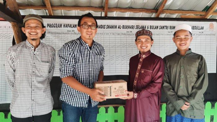 Tribunnews.com dan KitaBisa Sambangi Pondok Pesantren di Bogor, Ini Ungkapan Pimpinan Ponpes