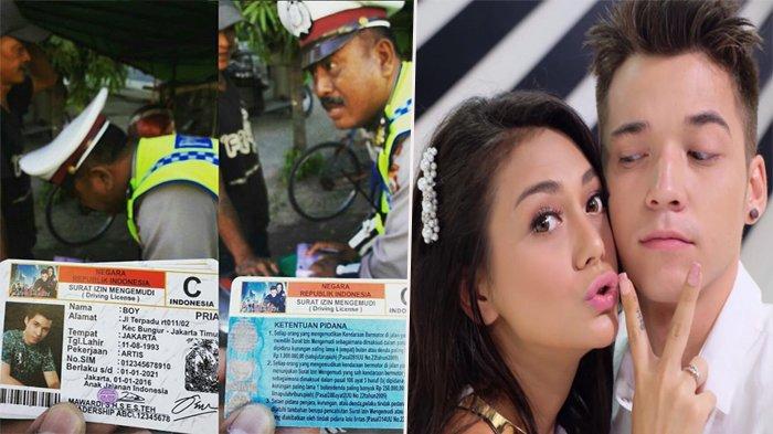 Pengendara Ini Tunjukkan SIM Boy Anak Jalanan Saat Ditilang Polisi, Celine Sampai Ngakak Lihatnya