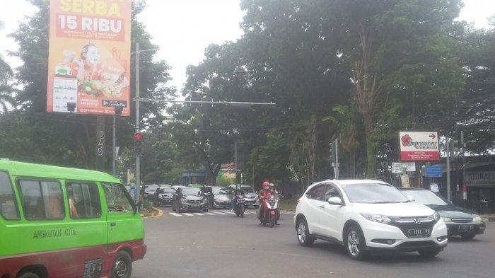 INFO LALU LINTAS - Jalan Pajajaran Kota Bogor Arah Terminal Baranangsiang Ramai Lancar