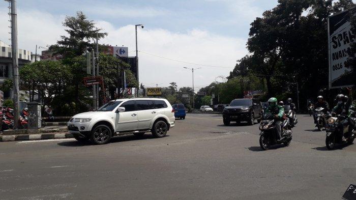 INFO Lalu Lintas : Kendaraan di Simpang CCM Bogor Saat Ini Ramai Lancar