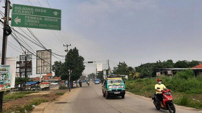 Pagi Ini Situasi Arus Lalu Lintas di Simpang Bambu Kuning Bogor Ramai Lancar