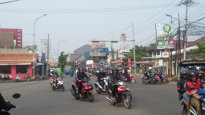 Laju Kendaraan di Jalan KS Tubun Bogor Pagi Ini Lancar Kedua Arah