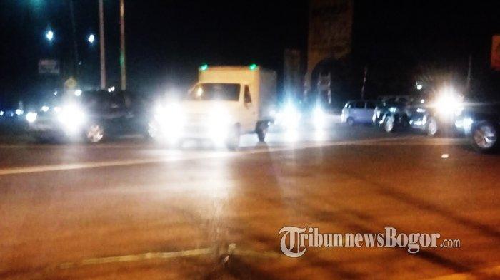 Malam Ini Jalan Raya Jakarta-Bogor Padat Selepas Simpang Sentul