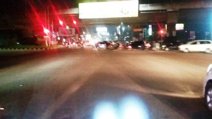Lalu Lintas Simpang Tol Borr Malam Minggu Ini Lancar