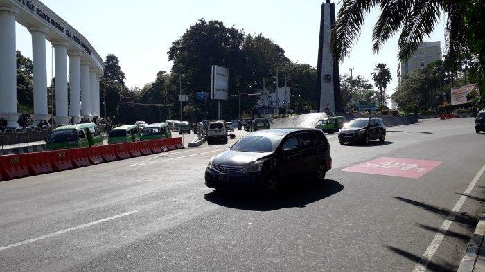 Info Lalu Lintas di Simpang Tugu Kujang Bogor: Kendaraan Ramai Lancar