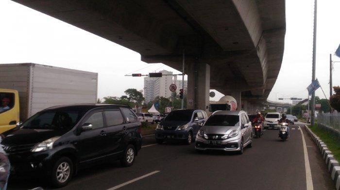 Arus Lalu Lintas di Simpang Yasmin, Kota Bogor Ramai Lancar, Pengendara Tetap Hati-hati