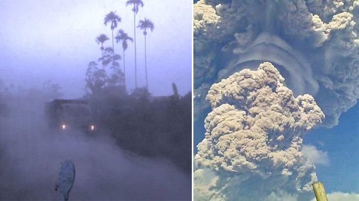Gunung Sinabung Meletus setelah Status Siaga Sejak Mei 2019, Ini Rekomendasi PVMBG