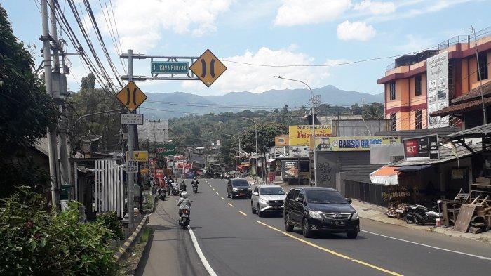 Jalan Raya Puncak Siang Ini Satu Arah ke Jakarta, Kondisinya Ramai Lancar