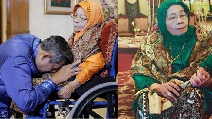 Cium Kening Ibunda, SBY Kabarkan Kondisi Terkini Siti Habibah : Mohon Doa dari Seluruh Sahabat