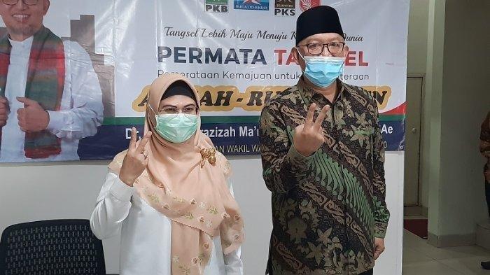 Calon Wali Kota Tangsel, Siti Nur Azizah Didatangi Seorang Ibu, Kaget Dikasih Kue dan Sepucuk Surat
