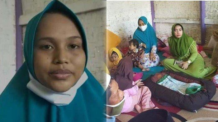 Siti Zainah merasakan ada yang masuk ke dalam rahimnya sejam sebelum melahirkan, setelah itu perutnya tiba-tiba membesar.